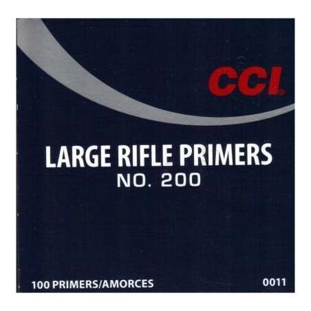 CCI Primers Large Rifle No:200 / 100pcs