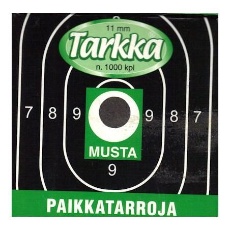 Paikkatarra Tarkka 11mm musta