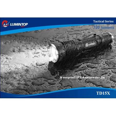 Lumintop TD15S XM-L2 Tactical Flashlight 950lm