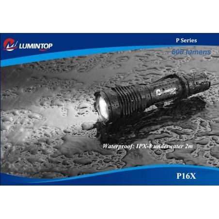 Lumintop P16X Tactical Flashlight 600lm