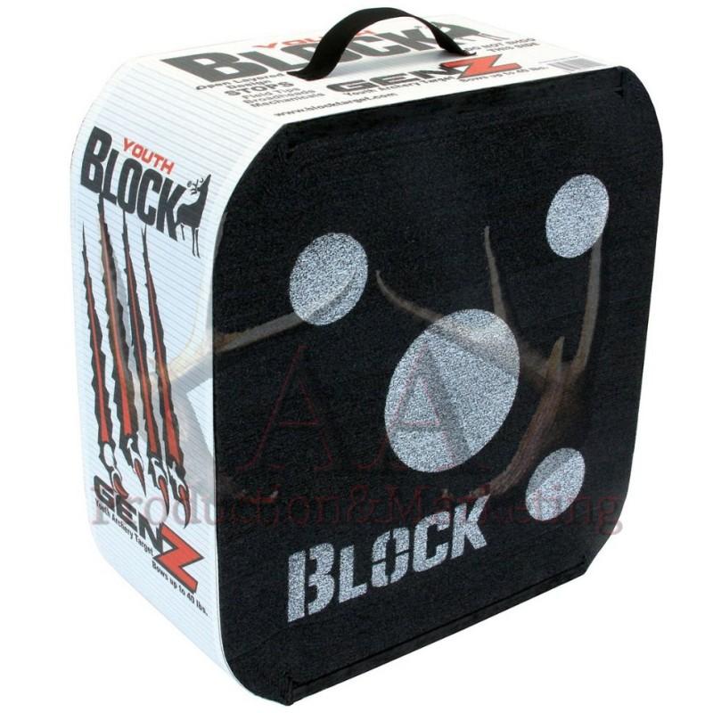 BLOCK BLACK XL YOUTH 50x55x18cm