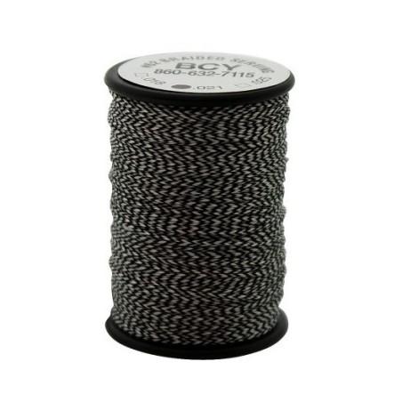 BCY serving spools braided #62 018 Black/White
