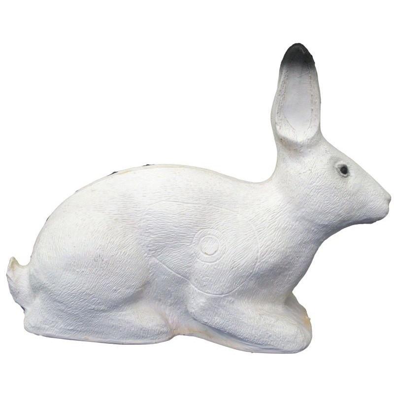 3-D Rabbit white SRT Target