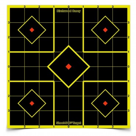 "Target Shoot N C Sight-in 12\""/30cm 5pcs"