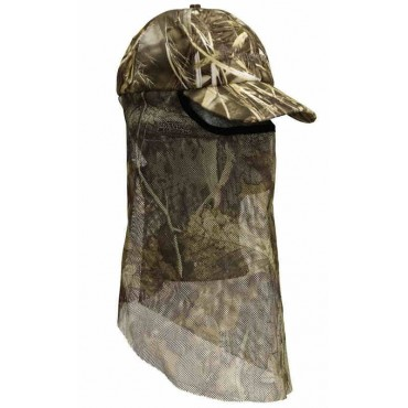 Camouflage Cap with facemask, Max-4