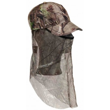 Camouflage Cap with facemask, APG-Camo