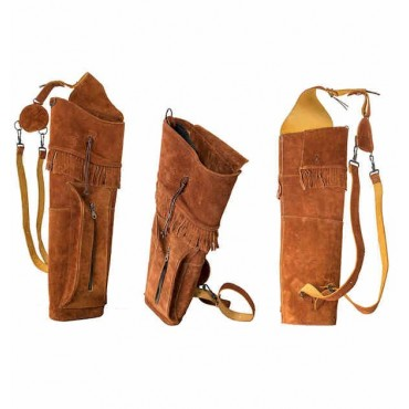 Quiver Buck Trail Indian Brown Suede, Large 56cm