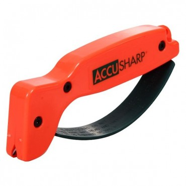 Broadhead and knife sharpener Accusharp, blaze orange