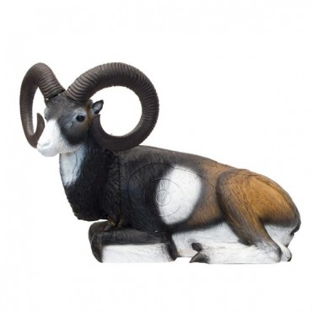 3-D Mouflon, lying