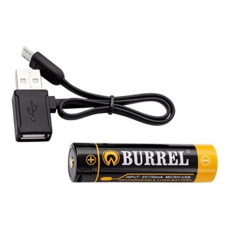 Burrel 3100 mAh 18650 -akku...