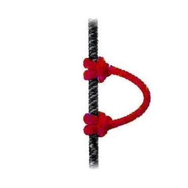 STRING,LOOP,4-1/4, 2 PSC Red