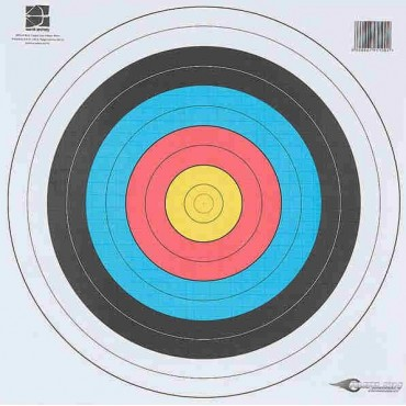 Target face F.I.T.A  80 x...