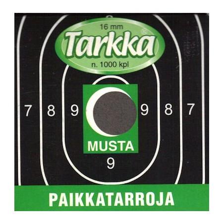 Paikkatarra Tarkka 16mm musta