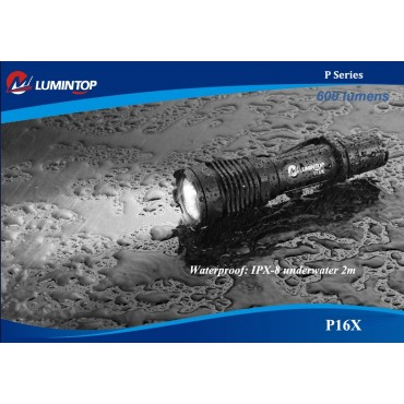 Lumintop P16X Tactical Flashlight 600lm