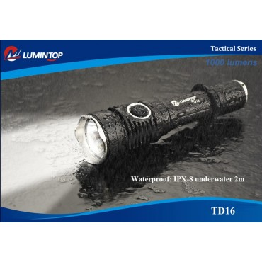 Lumintop TD16 Tactical Flashligh 1000lm
