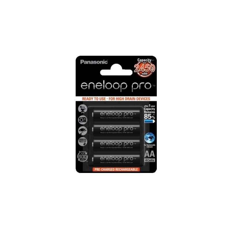 Eneloop PRO 2450 mA 4 kpl