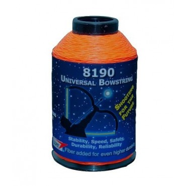 BCY Bowstring Material 8190 Fluor Orange 1/4lbs