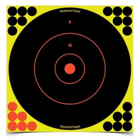"Ampumataulu Shoot N C Bullseye 17,25\""/43cm 5kpl pakkaus"