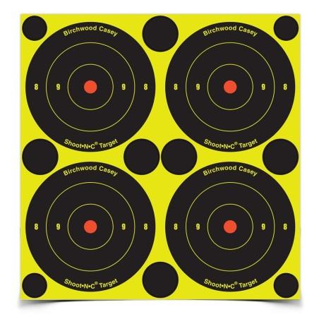 "Ampumataulu Shoot N C Bullseye Spots 3\""/7.6cm 48kpl pakkaus"
