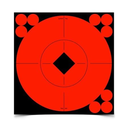 "Ampumataulu Target spots 6\""/15cm 10kpl pakkaus"