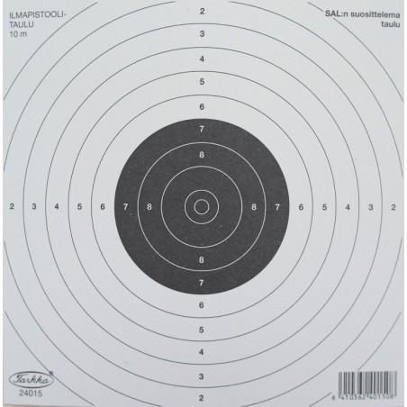 Ampumataulu, Tarkka Ilmapistoolitaulu 100kpl/pakkaus