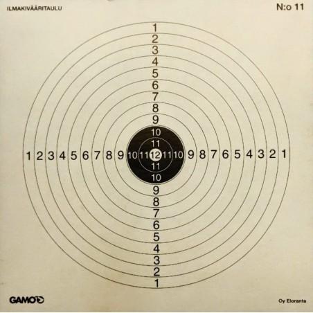 Ampumataulu, Gamo ilmakivääritaulu 14*14cm 100kpl/paketti