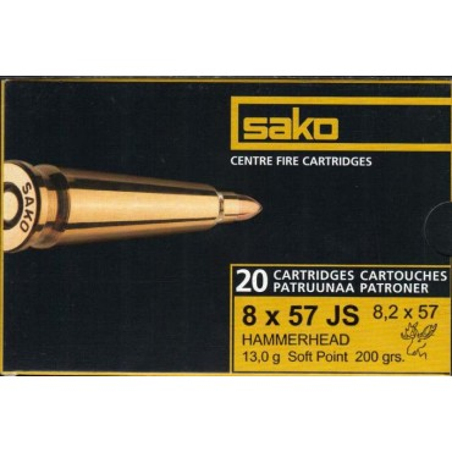 SAKO 8X57JS Hammerhead 13g / 20kpl
