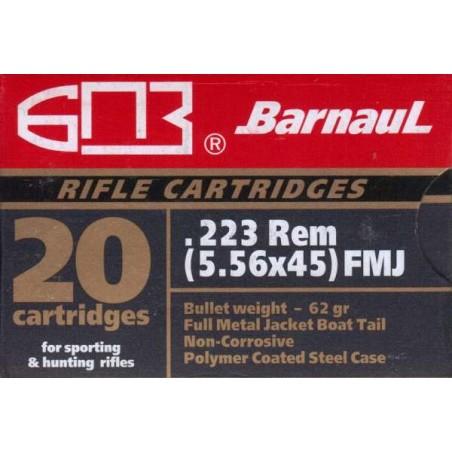Barnaul 223 FMJ  / 20 kpl rasia / Polymeeri