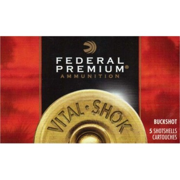 Federal Buck Shot 12/70 8,4mm/12haulia /5kpl