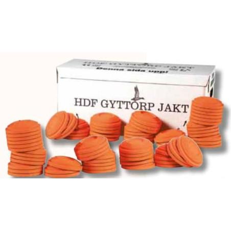 Savikiekko Gyttorp oranssi 200kpl/ltk